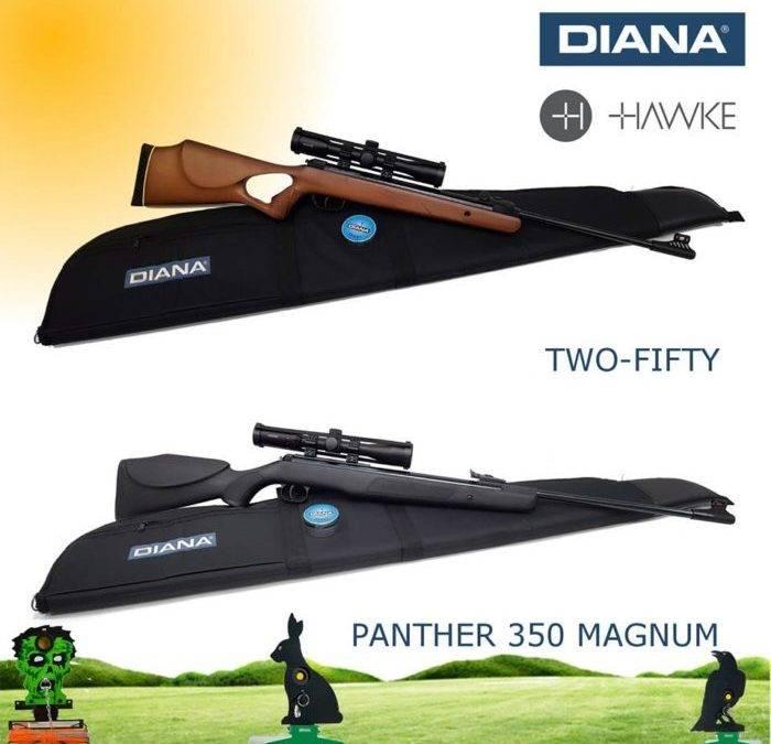Diana luchtbuksen aanbieding!