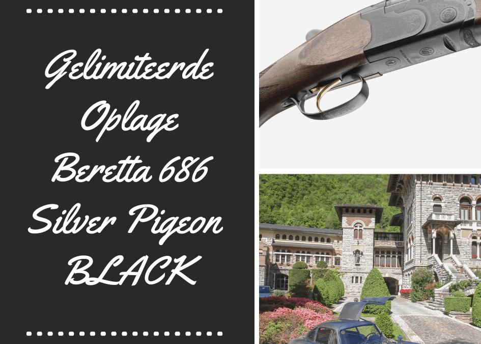 Gelimiteerde Oplage Beretta 686 Silver Pigeon I BLACK…